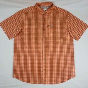 Columbia Omni Shade Sun Protection Shirt Orange